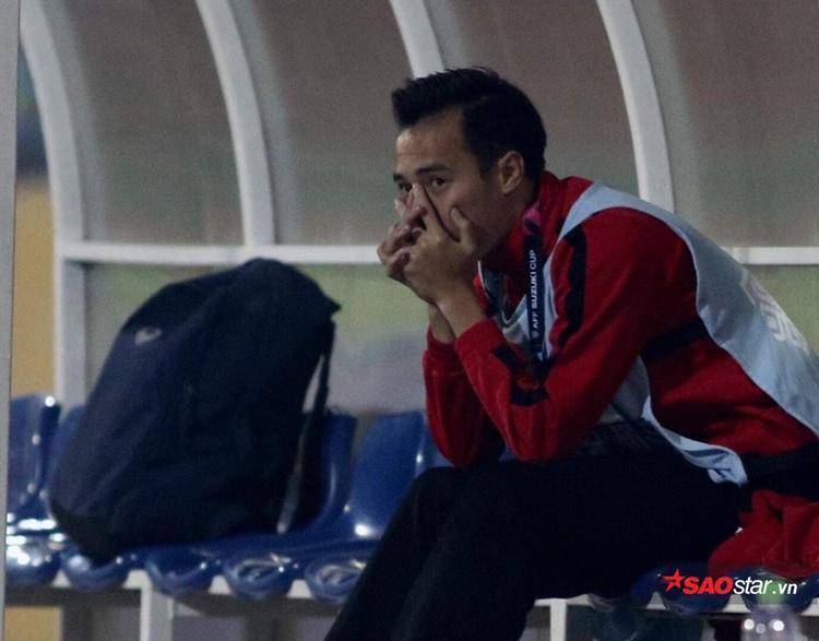 Văn Toàn sẽ không thể đá trận bán kết lượt về.
