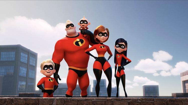 Incredibles 2 được đề cử đúng như dự kiến.