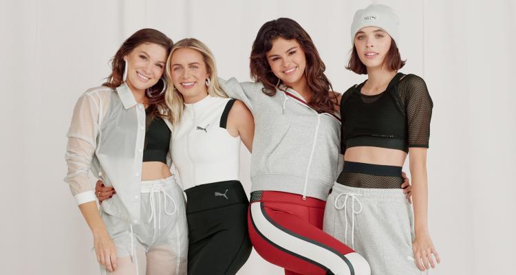 Loạt ảnh thời trang quảng cáo mới và người mẫu là do Selena Gomez và những người bạn thân của cô góp mặt đảm nhiệm.