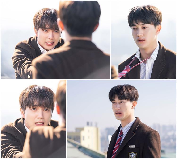My Strange Hero: Yoo Seung Ho nắm cravat của Kwak Dong Yeon, Jo Bo Ah trút giận lên miếng bít tết