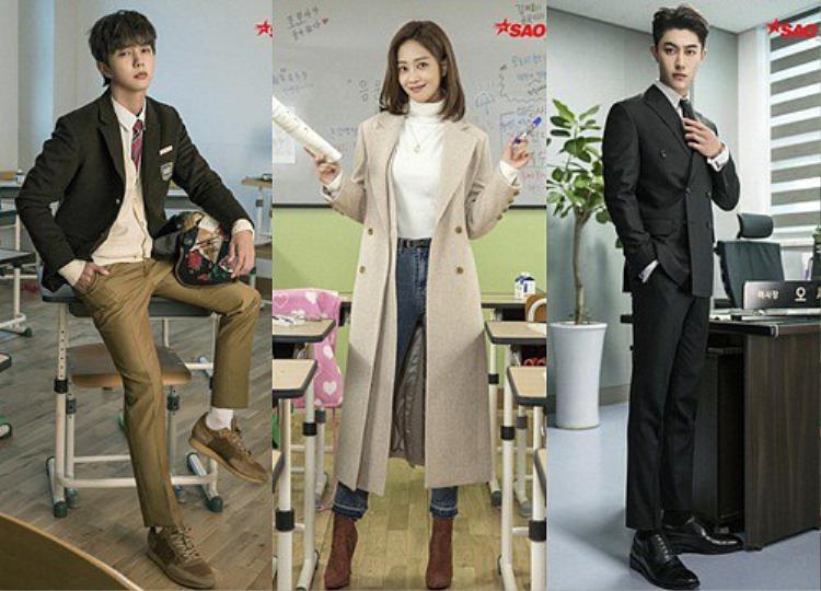 My Strange Hero tung poster đặc sắc, Yoo Seung Ho hoài cổ kéo vali bước trên tuyết trắng