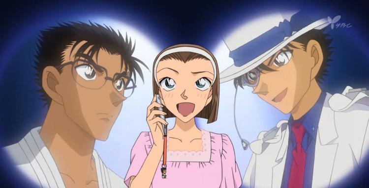 'Detective Conan 2019' tung poster: Kaito Kid cưa cẩm Ran, Makoto (bạn trai Sonoko) lần đầu lên bản điện ảnh