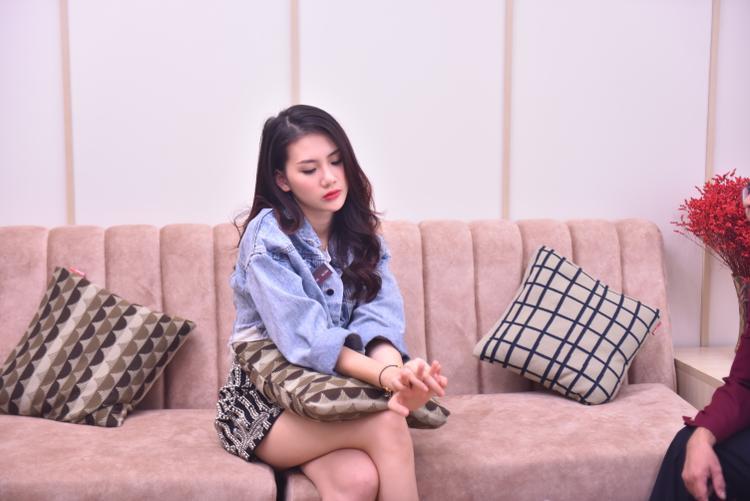 """Giải vàng siêu mẫu Việt Nam 2018 Quỳnh Hoa đảm nhận vai Nghi Xuân, 1 tiểu thư con nhà giàu, khá """"chảnh"""" và tính tình ngang bướng."""