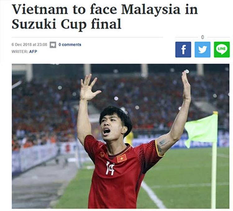 Báo Thái Lan đánh giá cao Việt Nam.