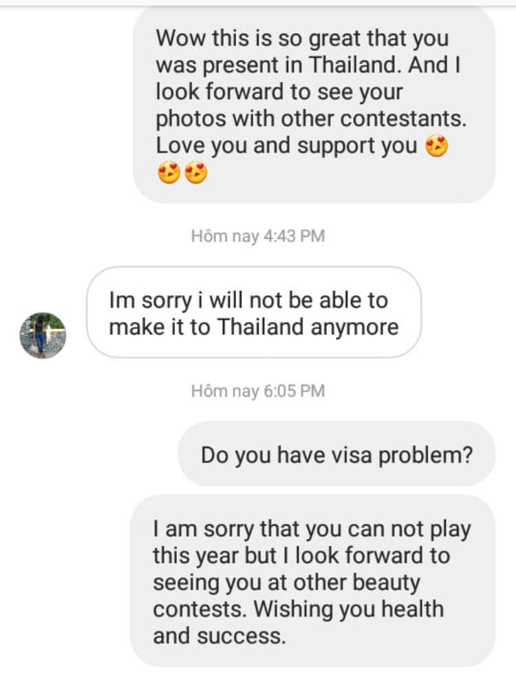 Hi hữu thí sinh thứ 95 cùng HHen Niê chinh chiến Miss Universe 2018 bị mất tích vì đi nhầm thuyền