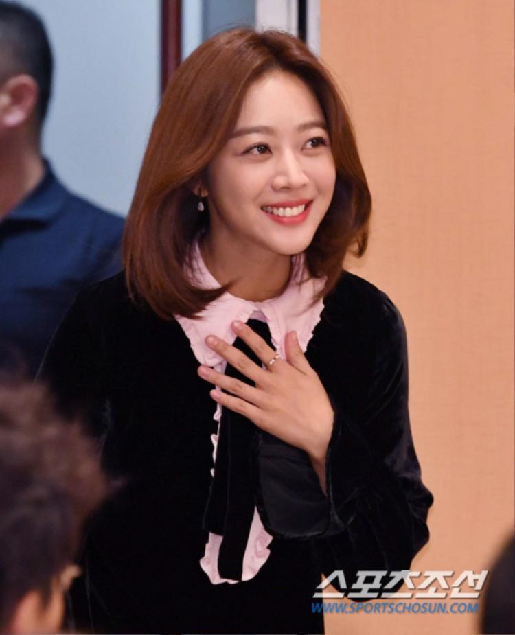 Jo Bo Ah xinh xắn, đáng yêu.