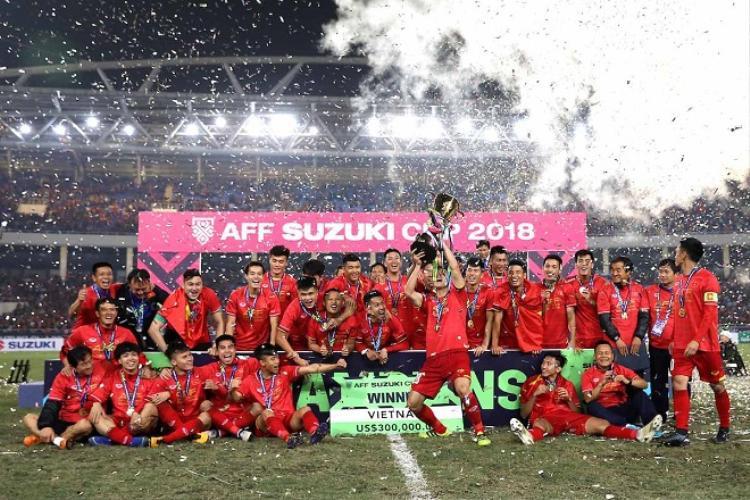Chức vô địch AFF Cup 2018 thực sự đã nâng tầm bóng đá Việt Nam.