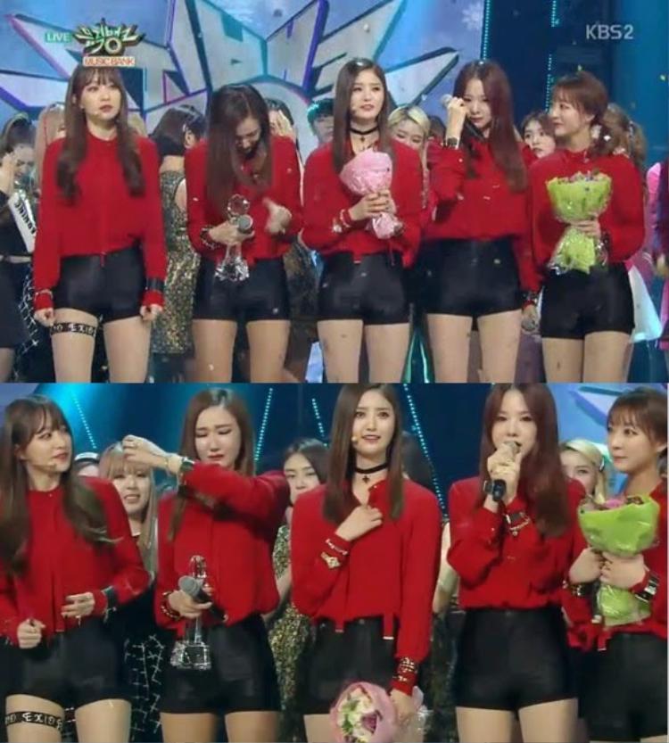 Up & Down được quay trở lại các sân khấu sau 3 tháng ngưng quảng bá, giúp EXID liên tục giành chiến thắng trên các show âm nhạc.