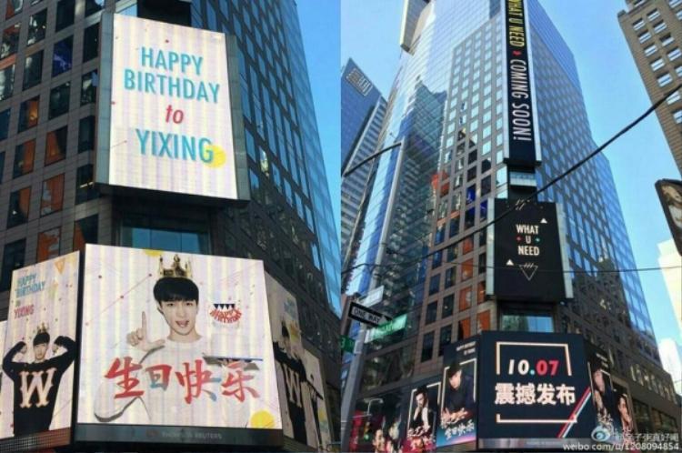 Loạt hình ảnh khiến fan Kpop nức lòng: Idol Hàn Quốc nổi bần bật giữa quảng trường New York Time