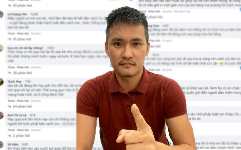 Netizen nói gì khi Công Vinh livestream thách thức CEO Đại Nam?