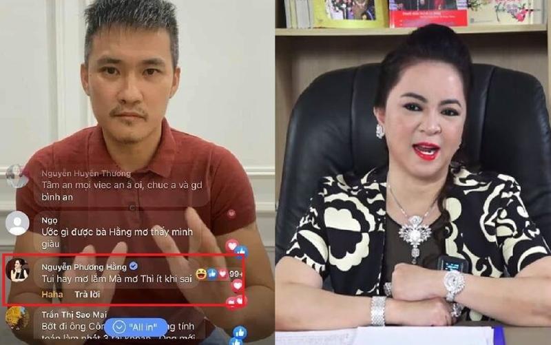 CEO Đại Nam vào xem livestream của Công Vinh, còn để lại bình luận
