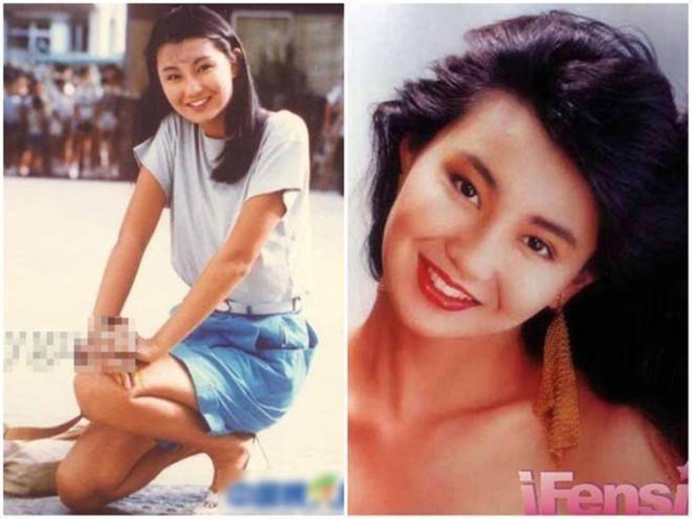 Trương Mạn Ngọc: Ở tuổi 18, Trương Mạn Ngọc không đẹp rạng rỡ, nhưng lại thu hút bởi những đường nét cá tính, cùng đôi mắt phảng phất nỗi buồn. Đến nay, cô cũng là người đẹp hiếm hoi của Hong Kong không phẫu thuật thẩm mỹ để níu kéo tuổi thanh xuân.