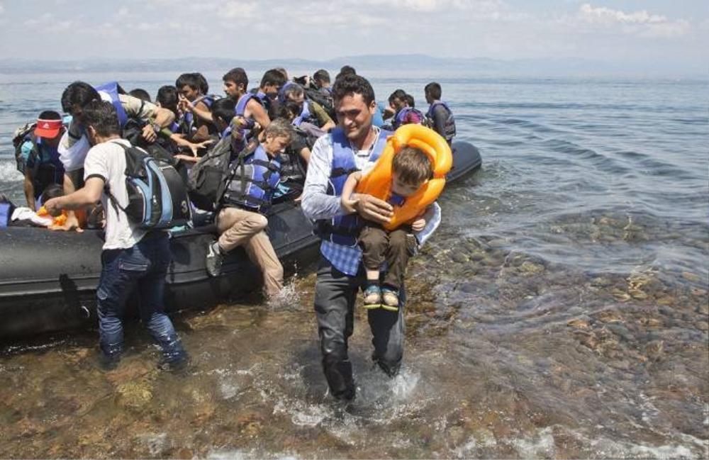 Do vị trí địa lý, Hy Lạp đã vượt qua Italy trở thành điểm đầu tiếp nhận người di cư trong các nước Liên minh châu Âu.