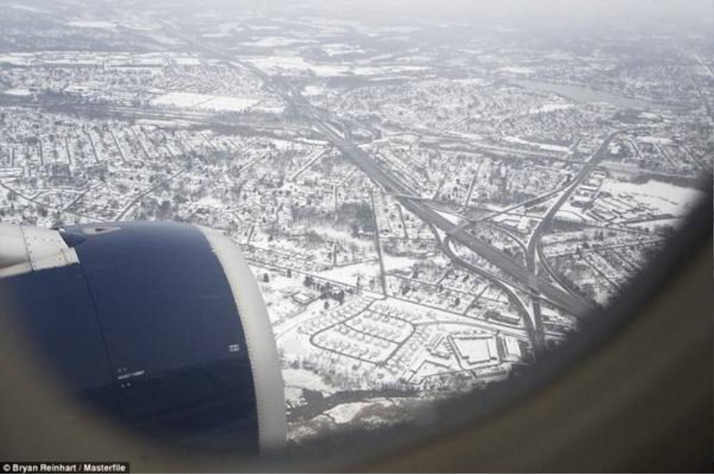 Thành phố cổ kính Salzburg, Áo chìm trong tuyết trắng.