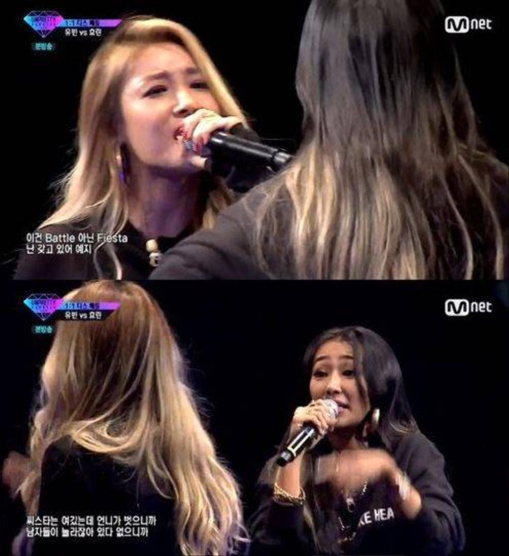Yubin và Hyorin đấu rap trong Unpretty Rapstar.