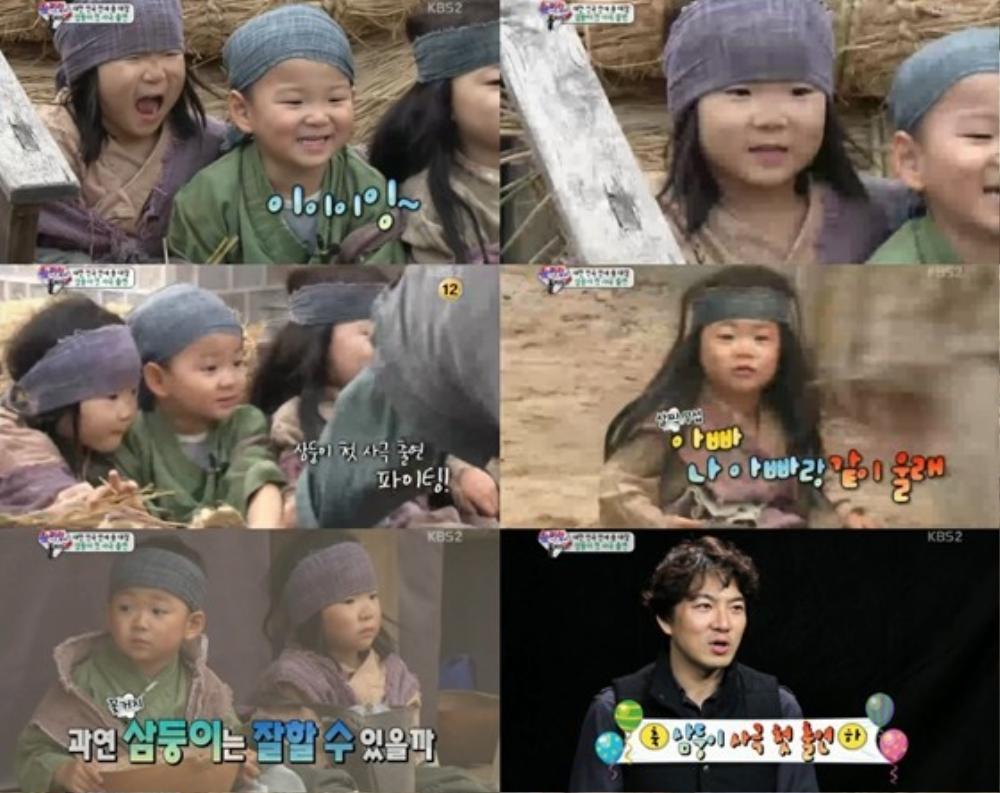 Tài tử Song Il Gook rất tự hào về trải nghiệm diễn xuất đầu tiên của 3 quý tử.