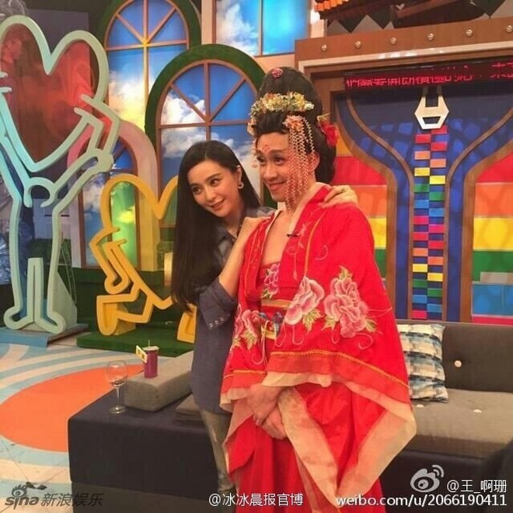 Cô xuất hiện trong Khang Hy đến rồi.