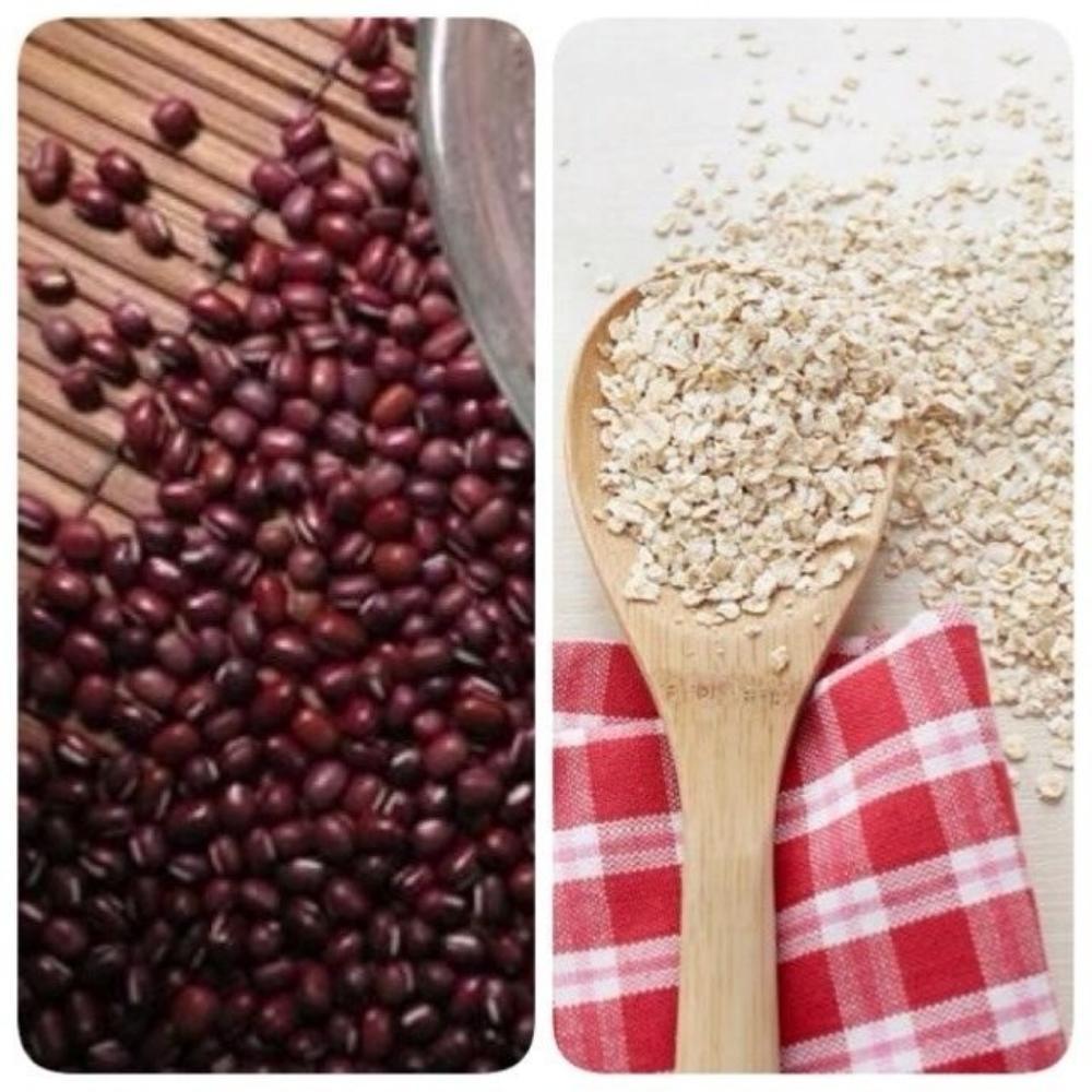 Bột yến mạch, đậu đỏ là những thành phần giúp trắng da hiệu quả