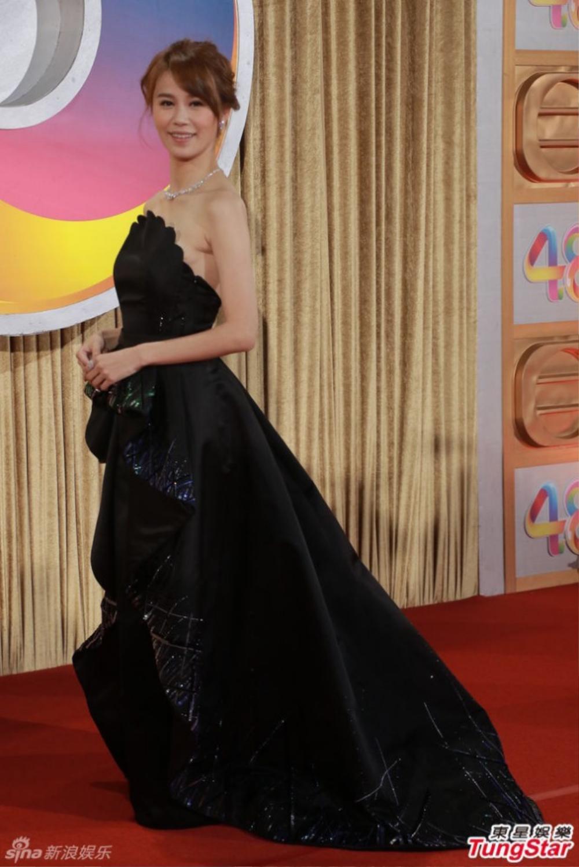 Nữ diễn viên nổi tiếng TVB không hề hay biết sự cố của mình.