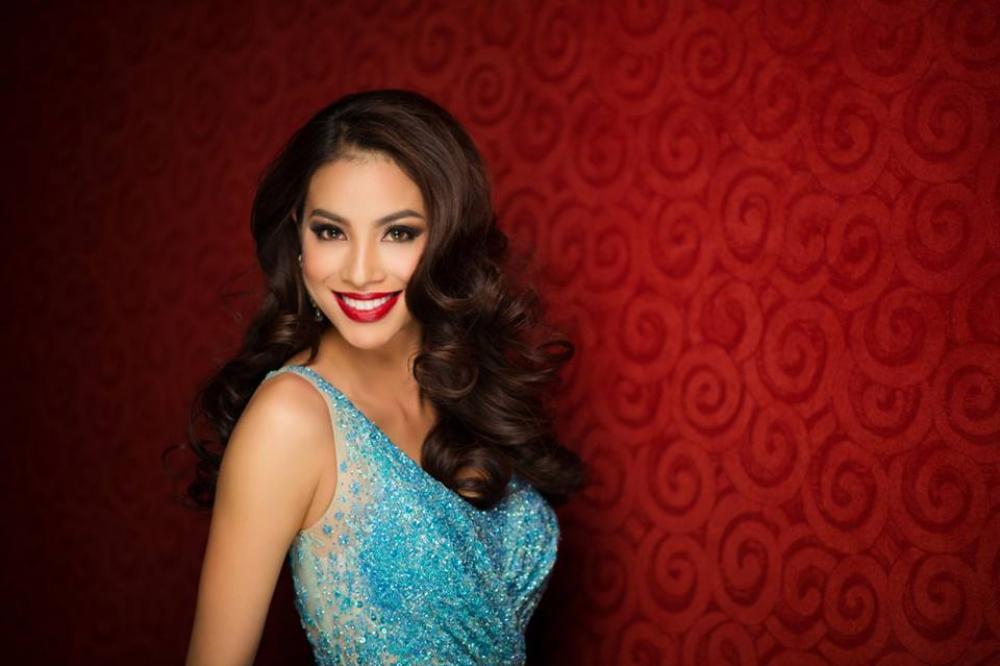 Hình ảnh mới nhất của Phạm Hương được trang Miss Universe đăng tải.
