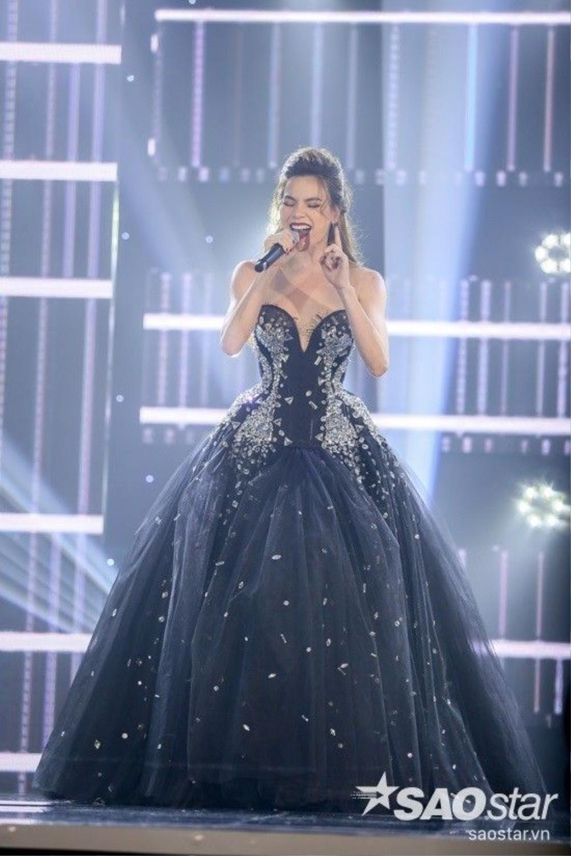 Hồ Ngọc Hà đã chinh phục hoàn toàn khán giả bởi giọng hát ngày càng đẹp.