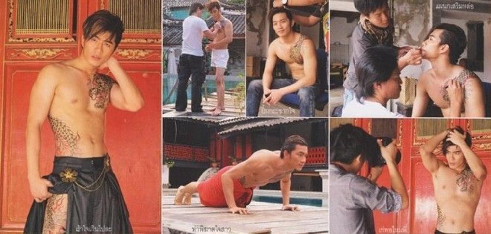 Anh chàng rất được lòng cộng đồng gay Thái Lan.