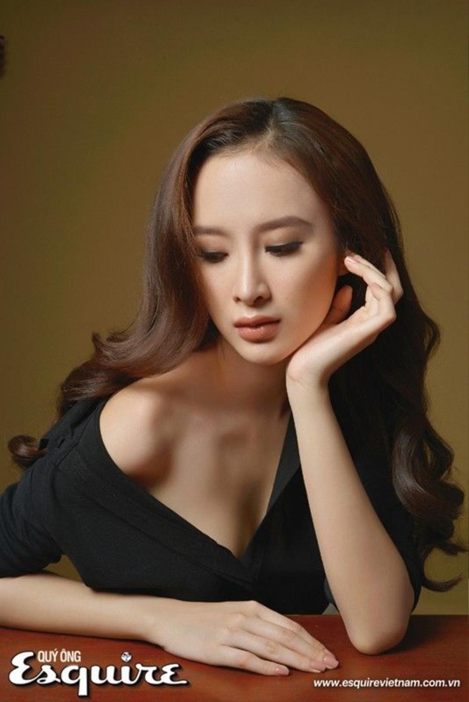 """""""Bà mẹ nhí"""" Phương Trình đẹp nhẹ nhàng và thanh thoát trong tông make up nâu hạt dẻ của make up Hiwon"""