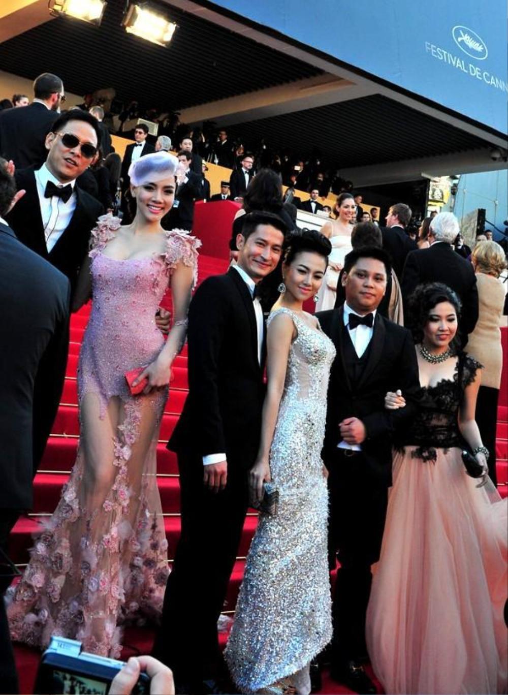 Sao Việt trên thảm đỏ Cannes