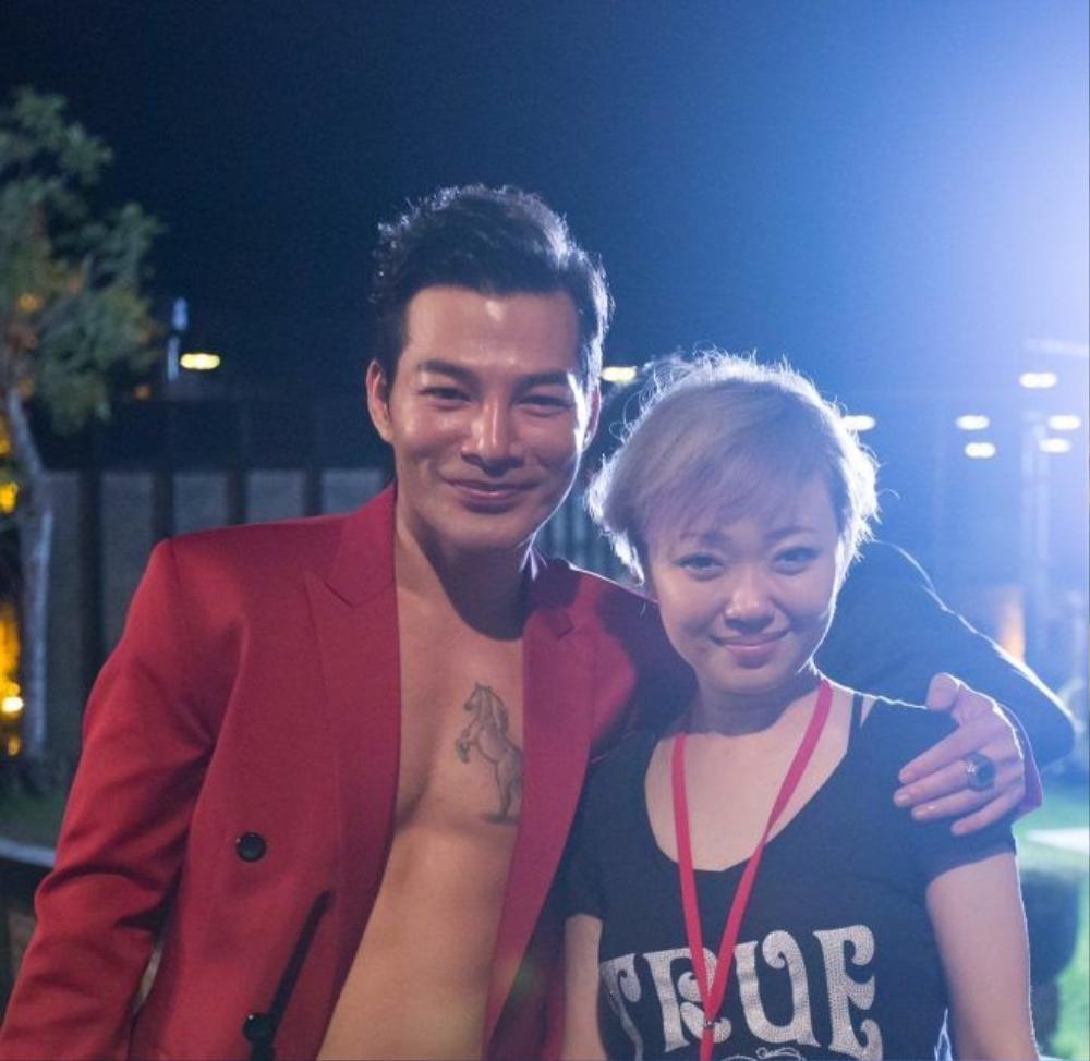 Tran Bao Son va dao dien Barbara Wong