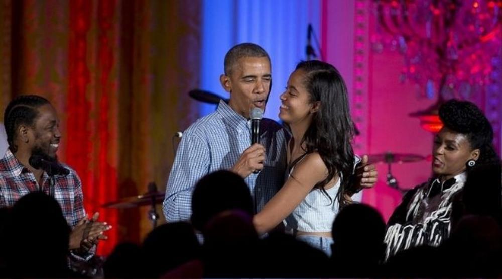 Tổng thống Obama chúc mừng sinh  nhật con gái yêu Malia