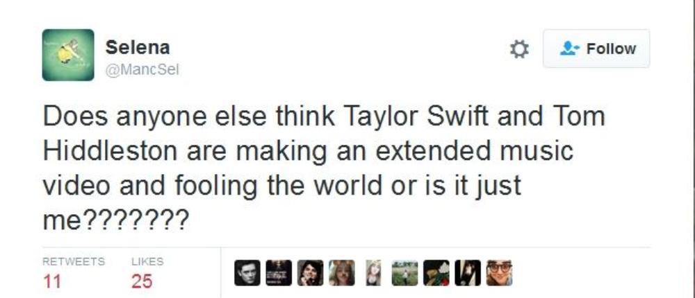 Phair chăng sắp tới đây Taylor Swift sẽ khiến giới truyền thông bất ngờ khi tất cả hình ảnh lăng mạn là màn chuẩn bị cho bài hát mới?