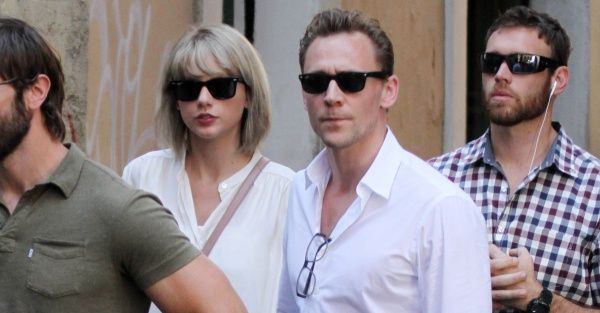Taylor Swift and Tom Hiddleston are seen in Rome - 6/27/16