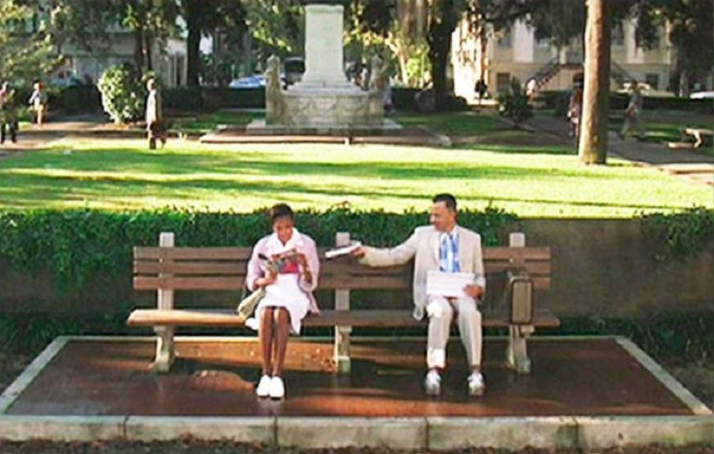 Băng ghế mà anh chàng Forrest Gump thích ngồi