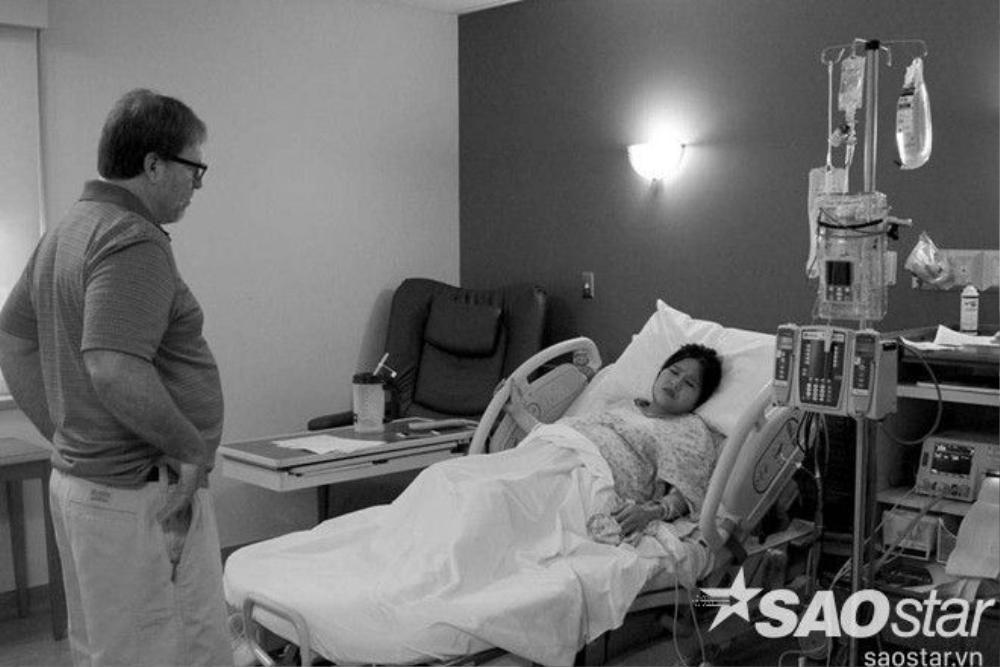 """Na Hye kể lại: """"Tuy quá ngày dự kiến sinh gần 2 ngày nhưng đến khi vào bệnh viện nhóc tỳ vẫn 'lì lợm' không chịu ra."""""""