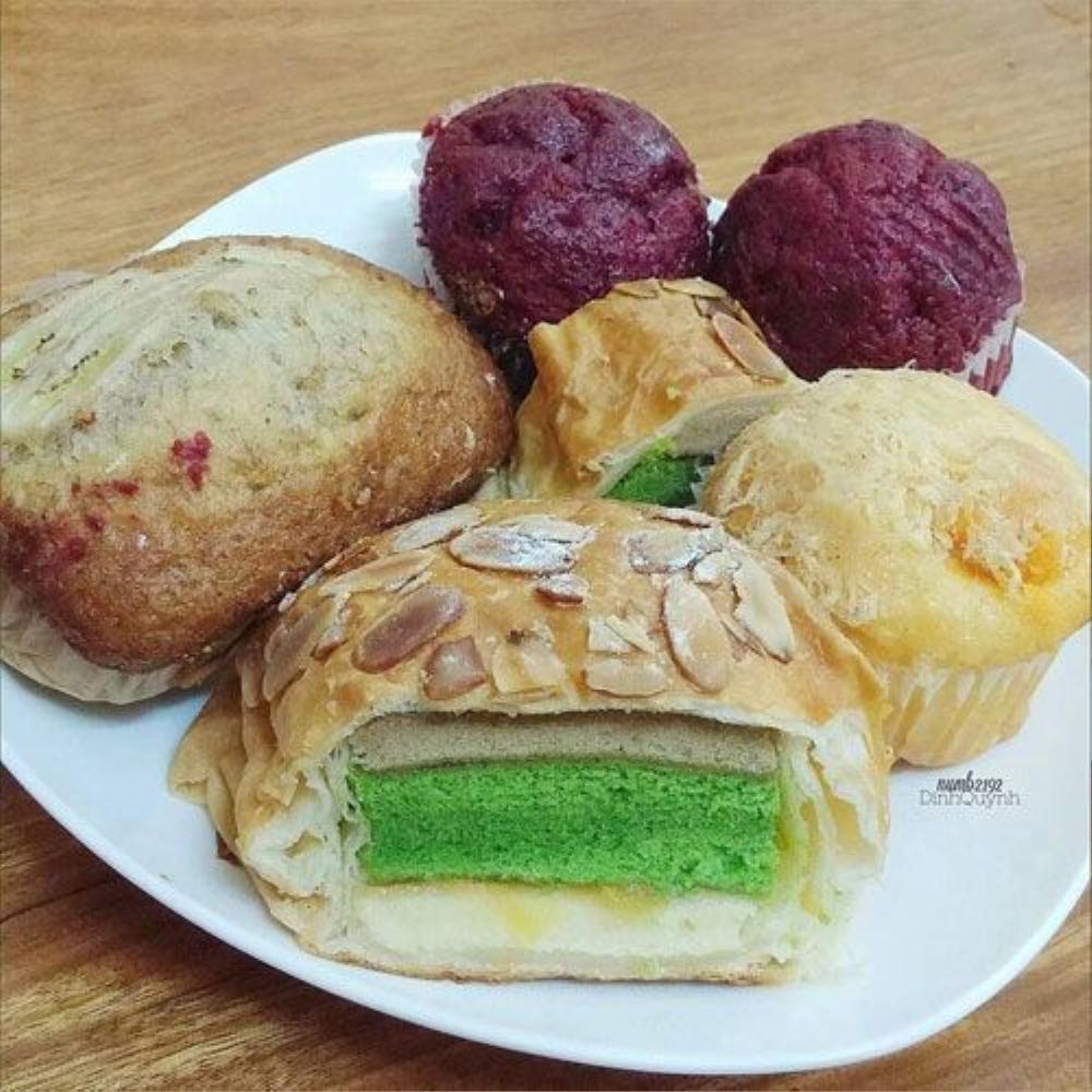 Bánh ngọt Danish - TTTM Aeon Mall, Cổ Linh, Long Biên (15k).