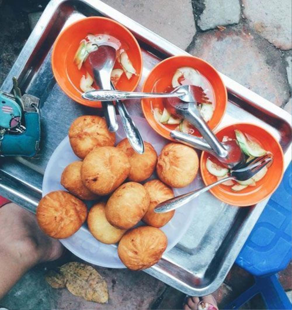 Bánh bao chiên - Số 8 Nguyễn Trường Tộ, Ba Đình (8k).