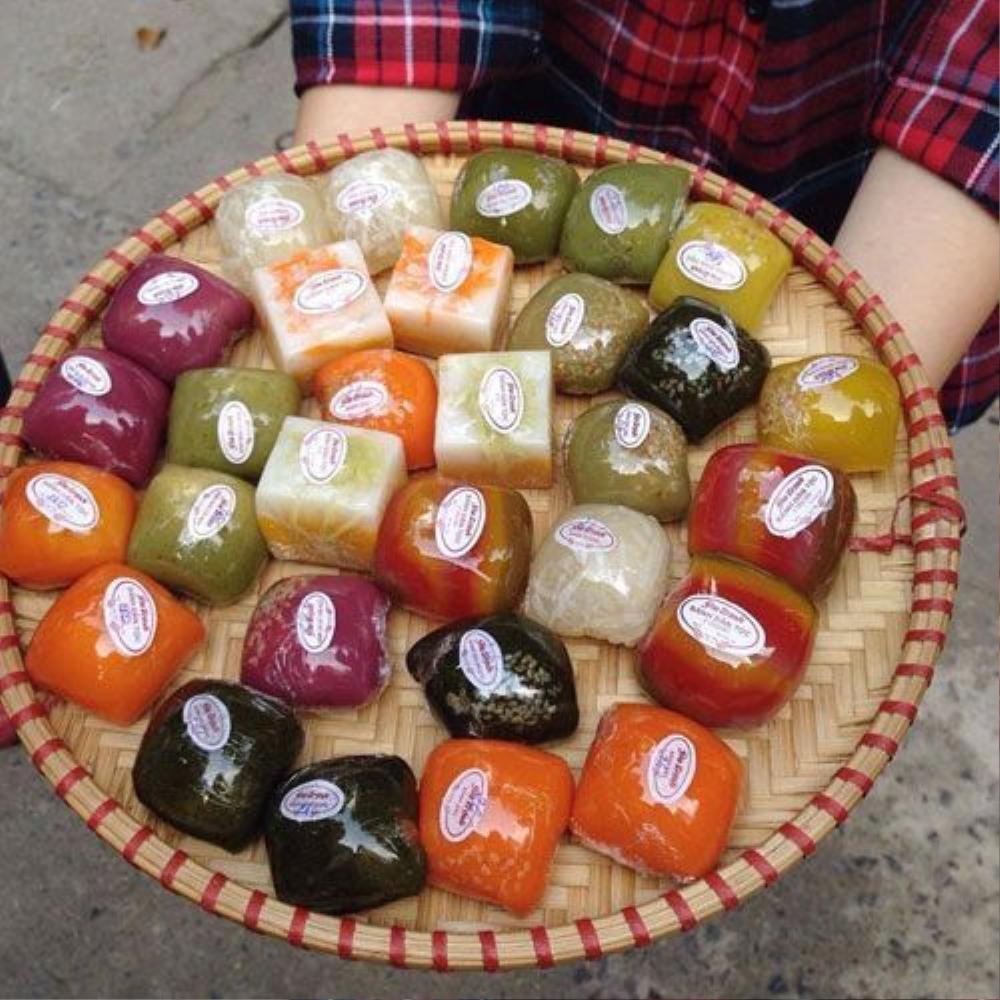 Bánh gấc, bánh lục cẩm, bánh mít,… Ngõ 16A Lý Nam Đế, Hoàn Kiếm (5k).