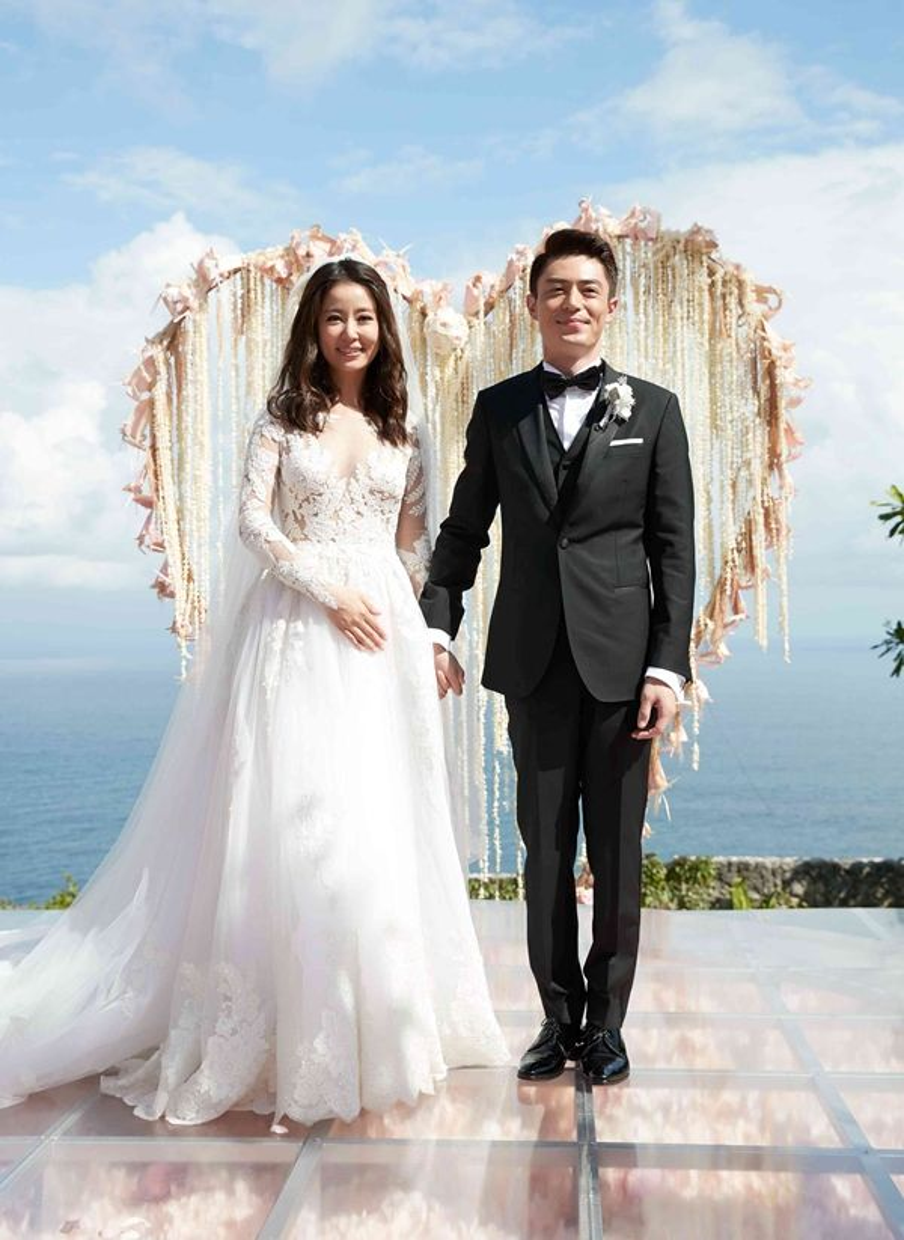 Hình ảnh trong đám cưới của Lâm Tâm Như - Hoắc Kiến Hoa cuối tháng 7/2016.