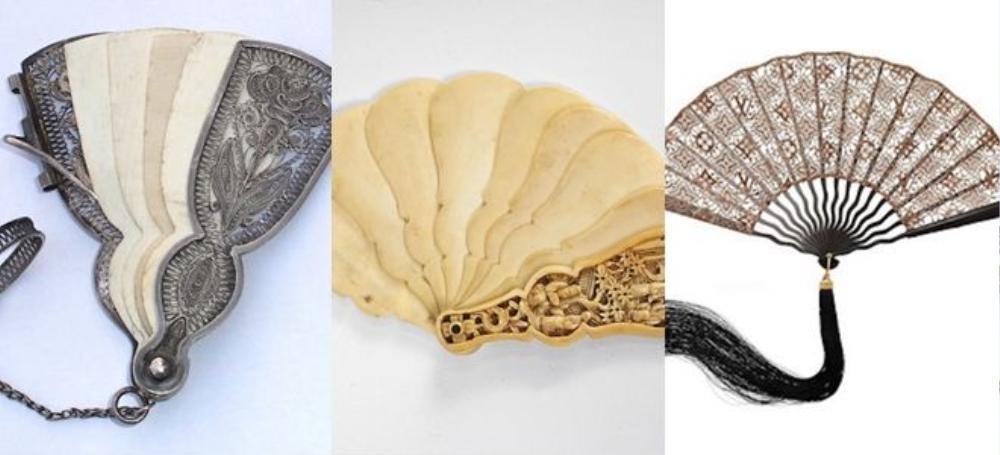 Phụ nữ Châu Âu ra đường thường xuyên đeo vàng và tay cầm quạt theo văn hóa Phương Đông