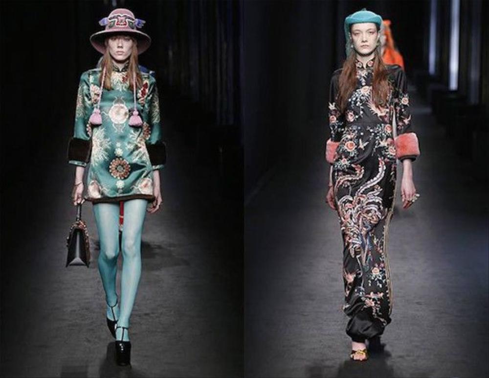 Năm nay, cũng chính Alessandro Michele - Giám đốc sáng tạo của Gucci đã một lần nữa khẳng định tinh thần Oriental là bất diệt trong thời trang. Bộ sưu tập của ông một lần nữa đón nhận hào quang Phương Đông trên sàn diễn và trở thành một cột mốc quan trọng gõ hồi chuông: thời của Oriental đã thực sự quay trở lại