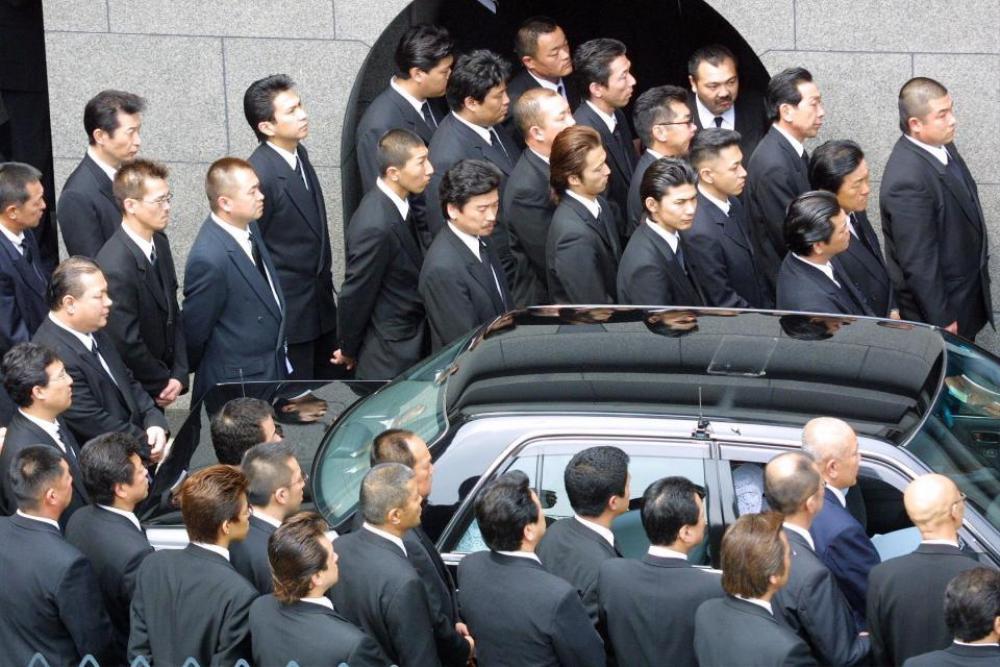 Lễ tang Yakuza.