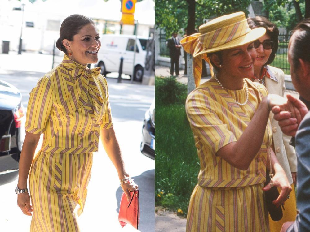 Bí ẩn tủ đồ Hoàng gia: 15 lần phụ nữ Hoàng gia khéo léo sửa lại quần áo cũ để tái sử dụng Ảnh 15