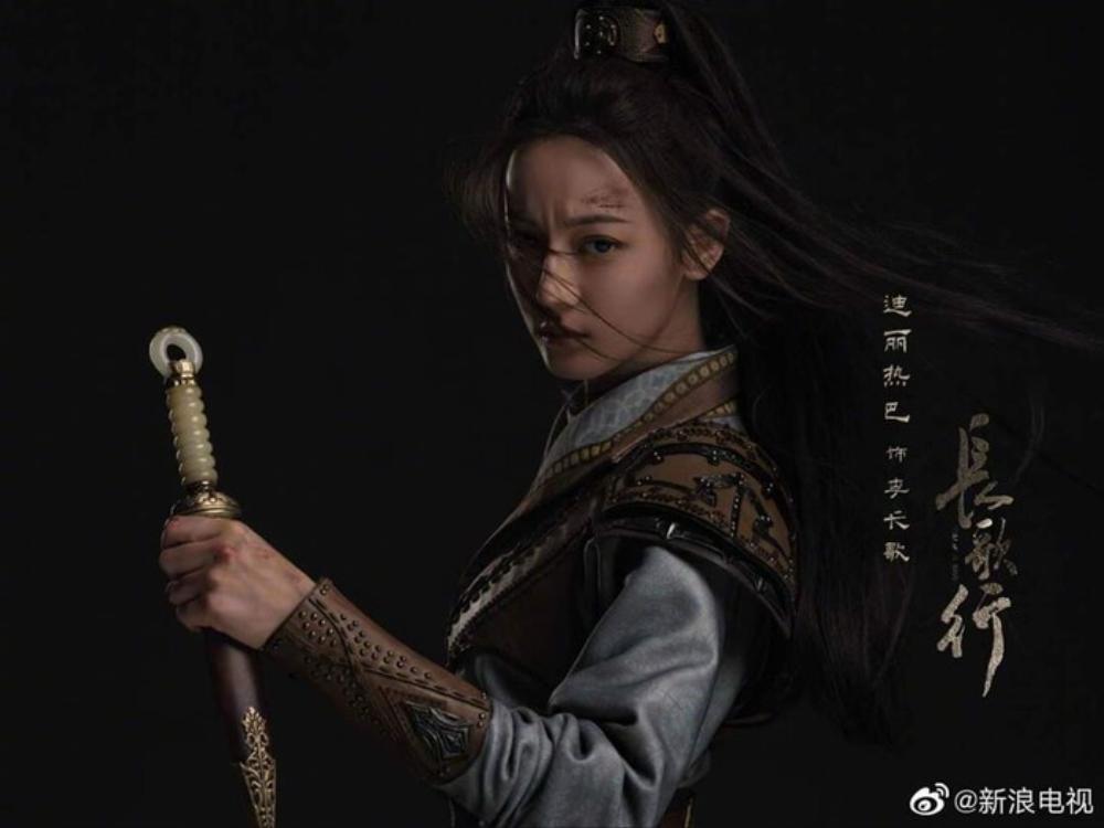 'Trường ca hành' tung trailer cực qui mô, Địch Lệ Nhiệt Ba mặc áo giáp anh dũng chiến đấu như nữ hán tử Ảnh 8