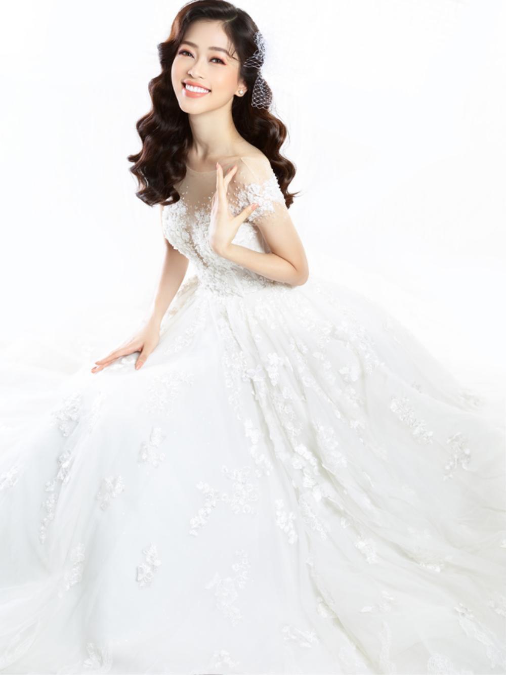 Phương Nga diện váy cưới xinh hết nấc, fan thi nhau chúc mừng chờ đón đám cưới cùng Bình An Ảnh 7