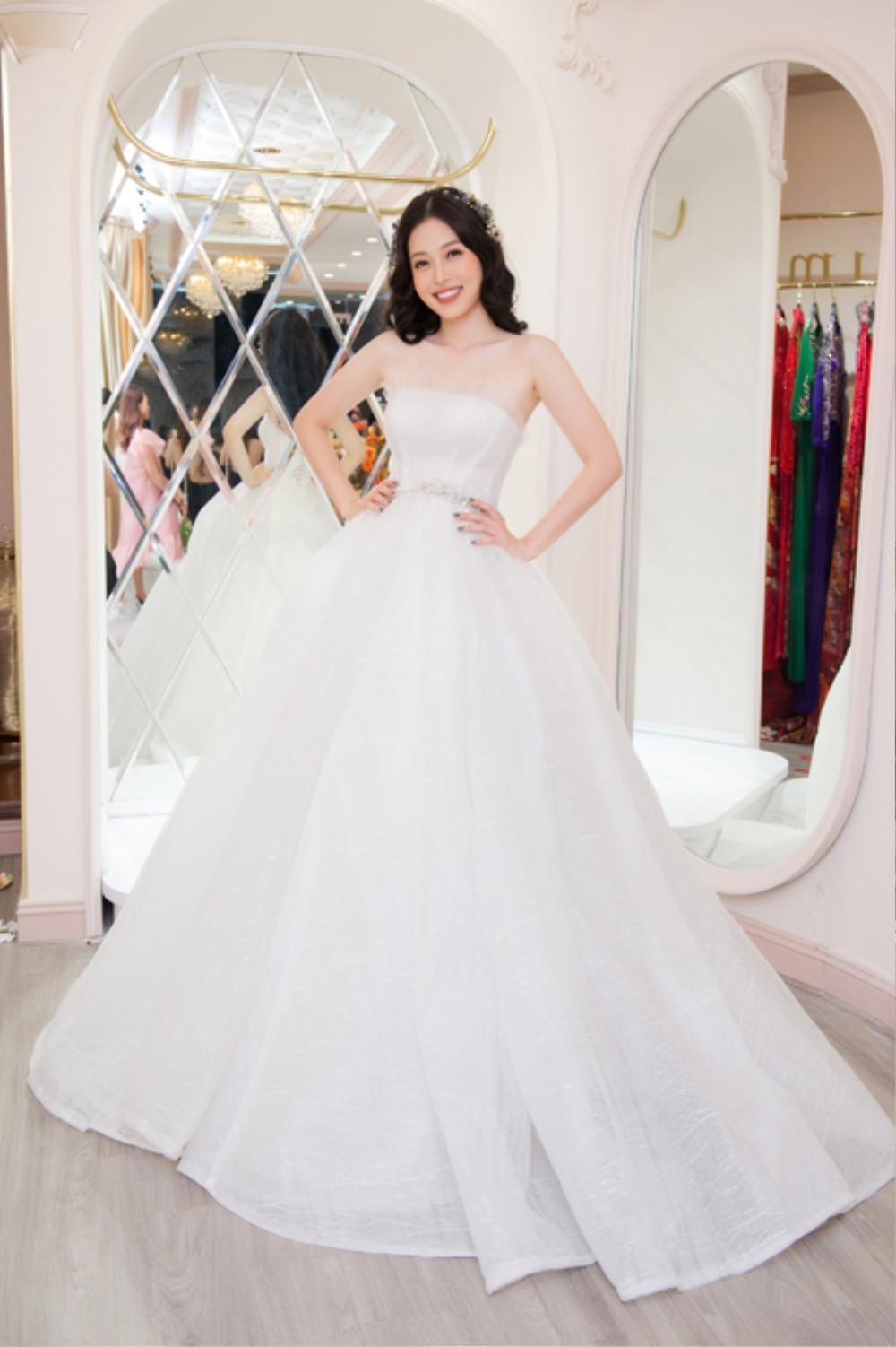Phương Nga diện váy cưới xinh hết nấc, fan thi nhau chúc mừng chờ đón đám cưới cùng Bình An Ảnh 5
