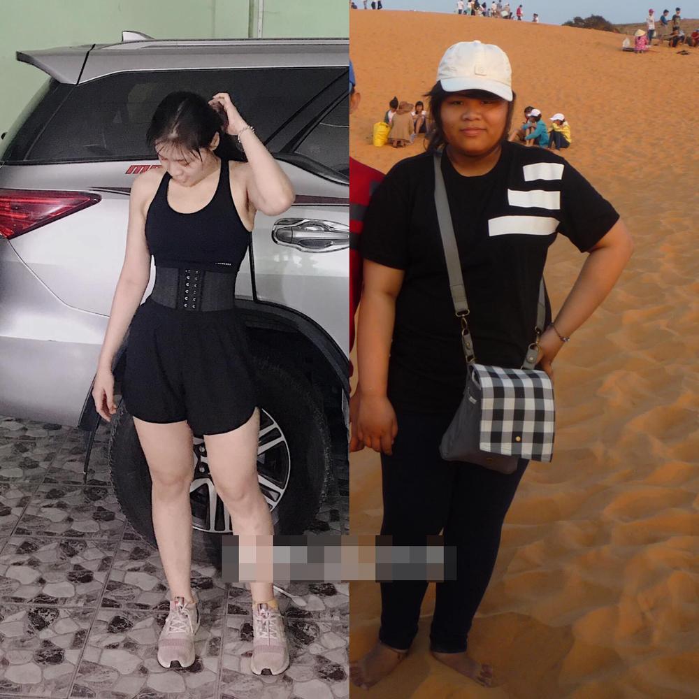 Bị miệt thị vì ngoại hình, cô gái trẻ giảm hơn 50 kg nhờ tập tạ Ảnh 7