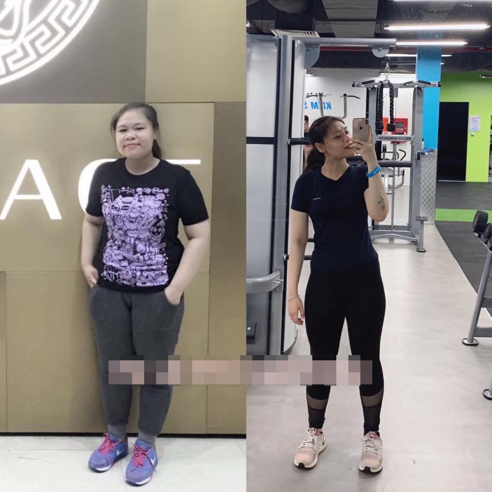 Bị miệt thị vì ngoại hình, cô gái trẻ giảm hơn 50 kg nhờ tập tạ Ảnh 6