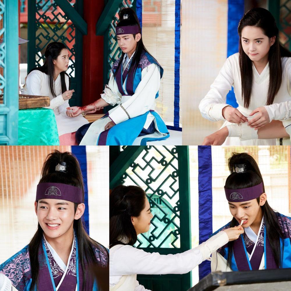 'Hwarang' - phim đầu tay của V (BTS) và Park Seo Joon phát sóng vào tháng 8: Idol được khen về diễn xuất, fan bắt đầu 'cày' lại chưa? Ảnh 4