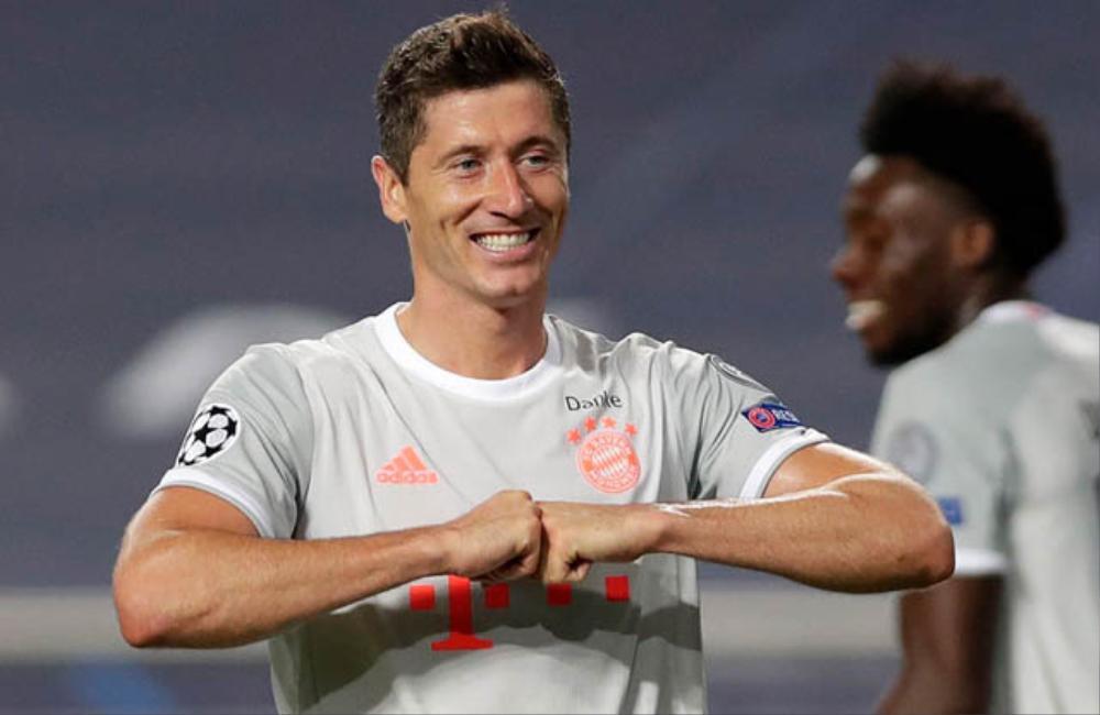 Bayern và Lewandowski lập vô số kỷ lục sau màn hủy diệt Barca Ảnh 2