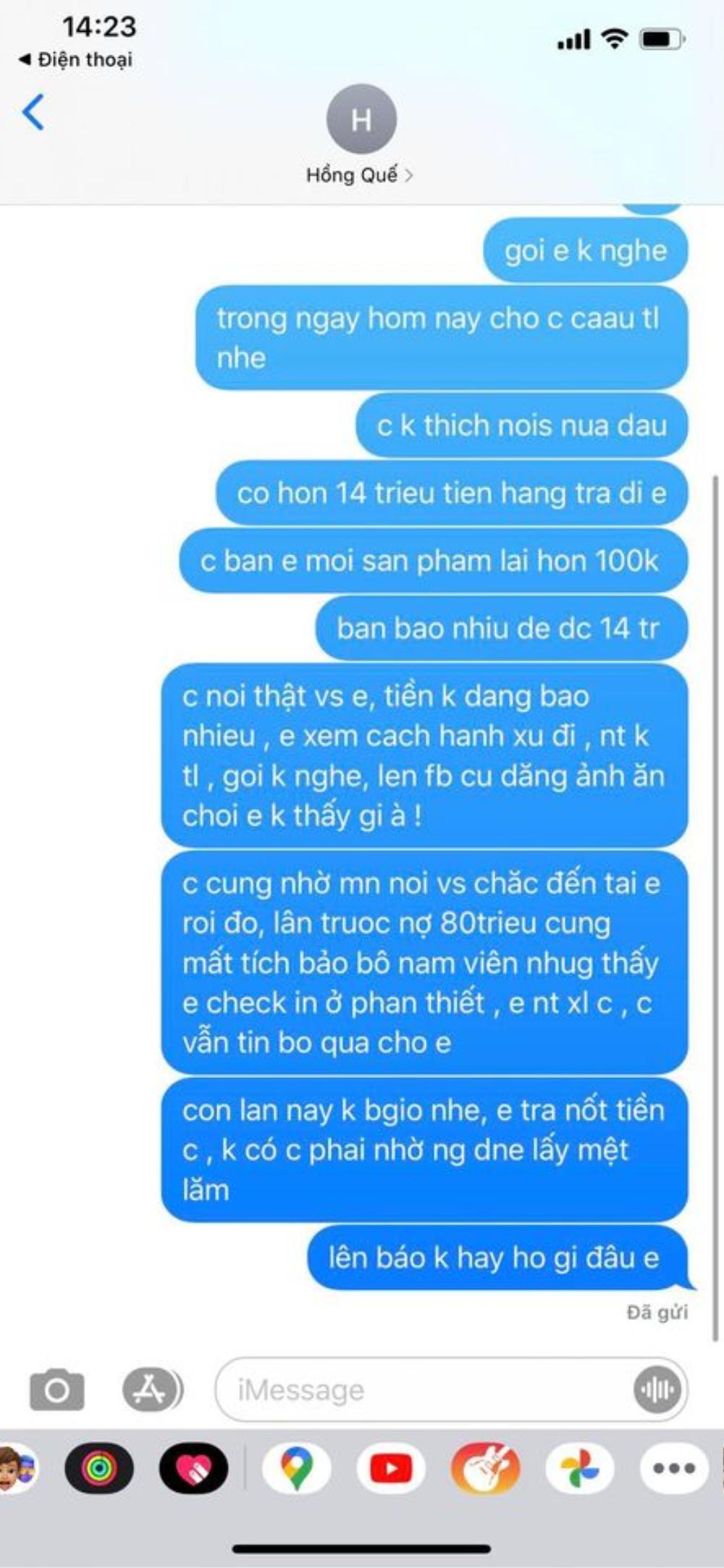 Vợ cũ Việt Anh 'tố' Hồng Quế nợ nần: Tình cảm chị em thân thiết chính thức 'toang'? Ảnh 7